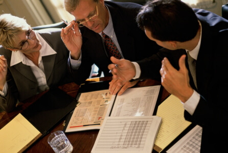 What are the divorce terms for owing spouse money?