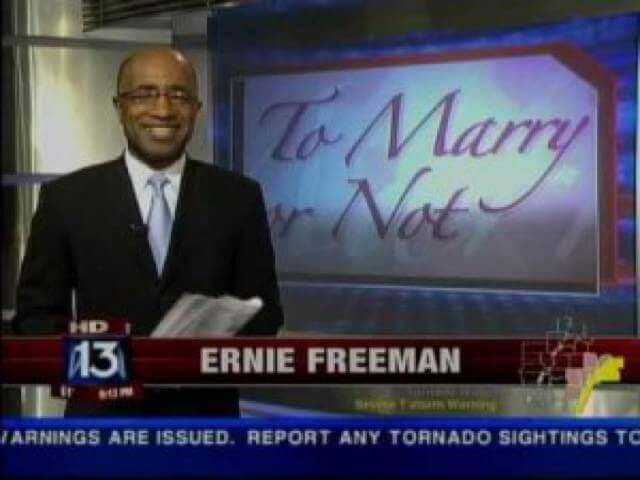 "Miles Mason, Sr. Interviewed in ""To Marry or Not Marry,"" Fox News and Ernie Freeman"