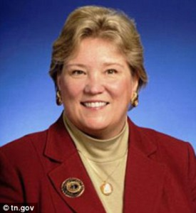 Kate O'Day resigned as Commissioner of the Tennessee Dept. of Children's Services