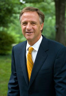 Photo of Governor Bill E. Haslam