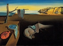 painting: The Persistence of Memory by Salvador Dali