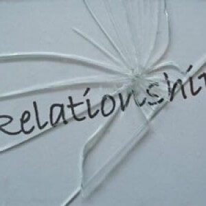 image: word relationship like broken glass