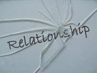 image: word relationship like broken glass