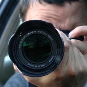 photo private investigator with camera