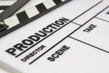 graphic production script