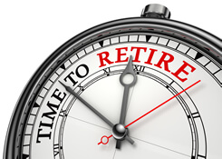 image retirement clock