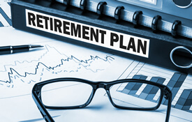 retirement plan binder and calculator